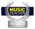 Music Teacher Awards logo with link to site
